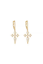 Stone Paris Boucles blood diamonds or jaune