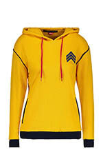 Perfect Moment Sweat à capuche - women's chevron over size hoodie