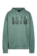 "Newtone Sweat Hoody green ""1970"""
