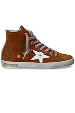 Golden Goose Sneakers Francy Femme, caramel suédé
