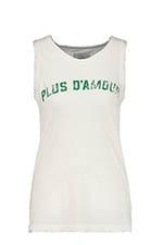 "Current Elliott Tee shirt ""Plus d'amour"""