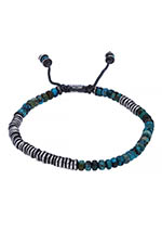 M.Cohen Bracelet Round table stacked Turquoise