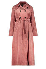 Alexa Chung Long Trench Coat