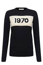 Bella Freud Pull 1970 black