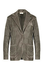 American Vintage Blazer manches longues velours