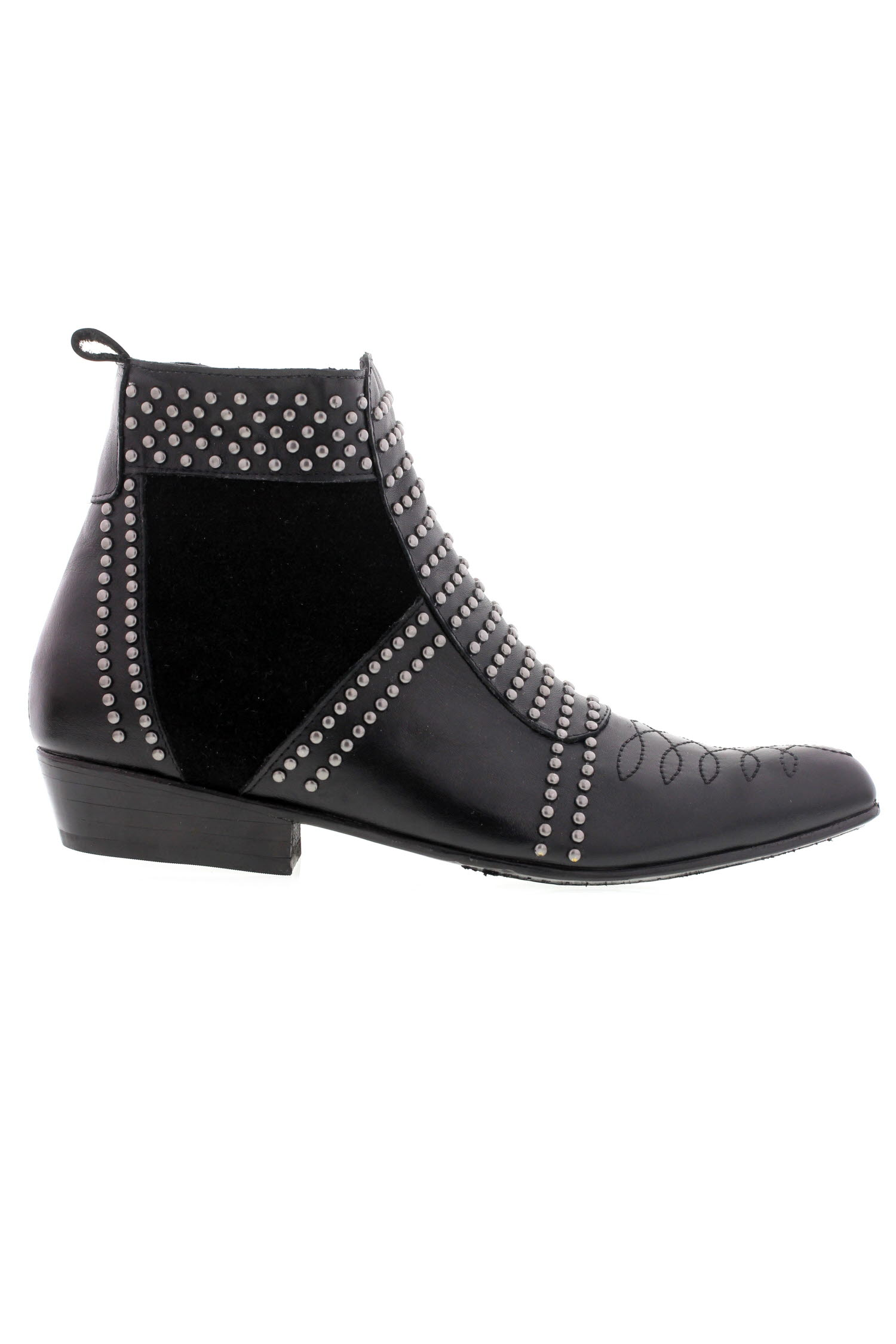 Charlie Boots Cloutees Noires Anine Bing