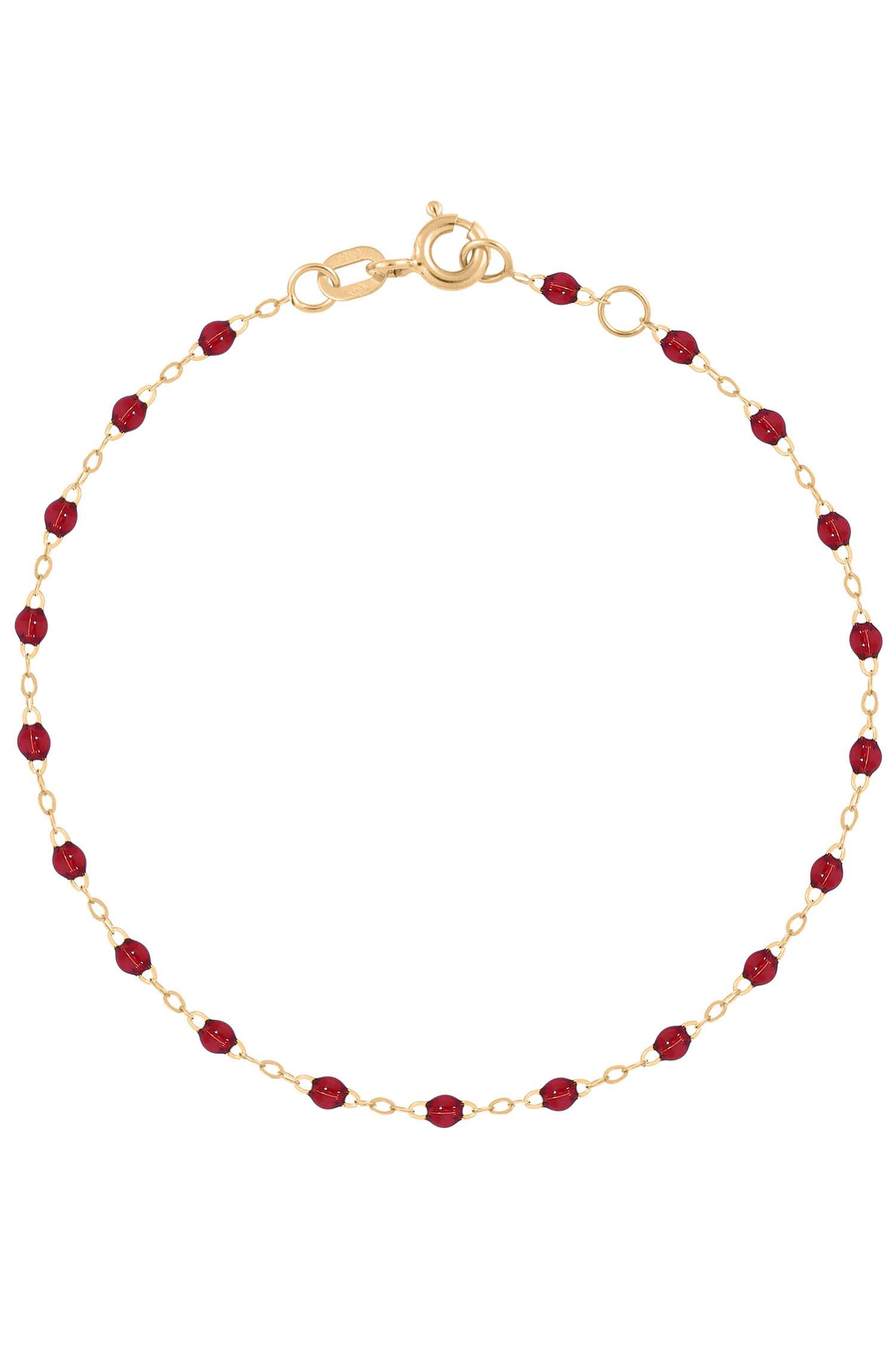 bracelet perle de resine