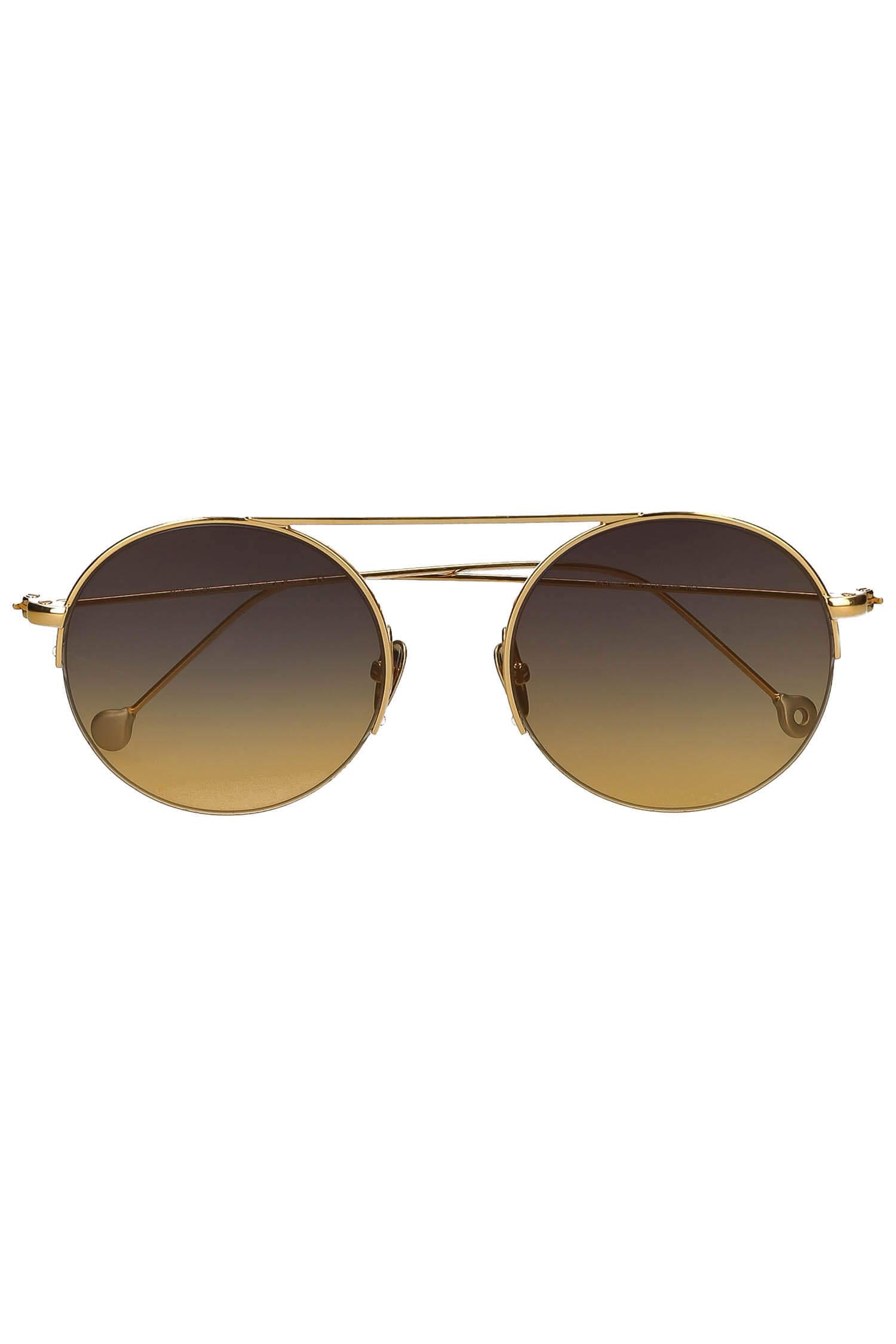 9494a96d82 ... Lunettes de soleil Hermes or jaune palladium. Appuyez pour zoomer