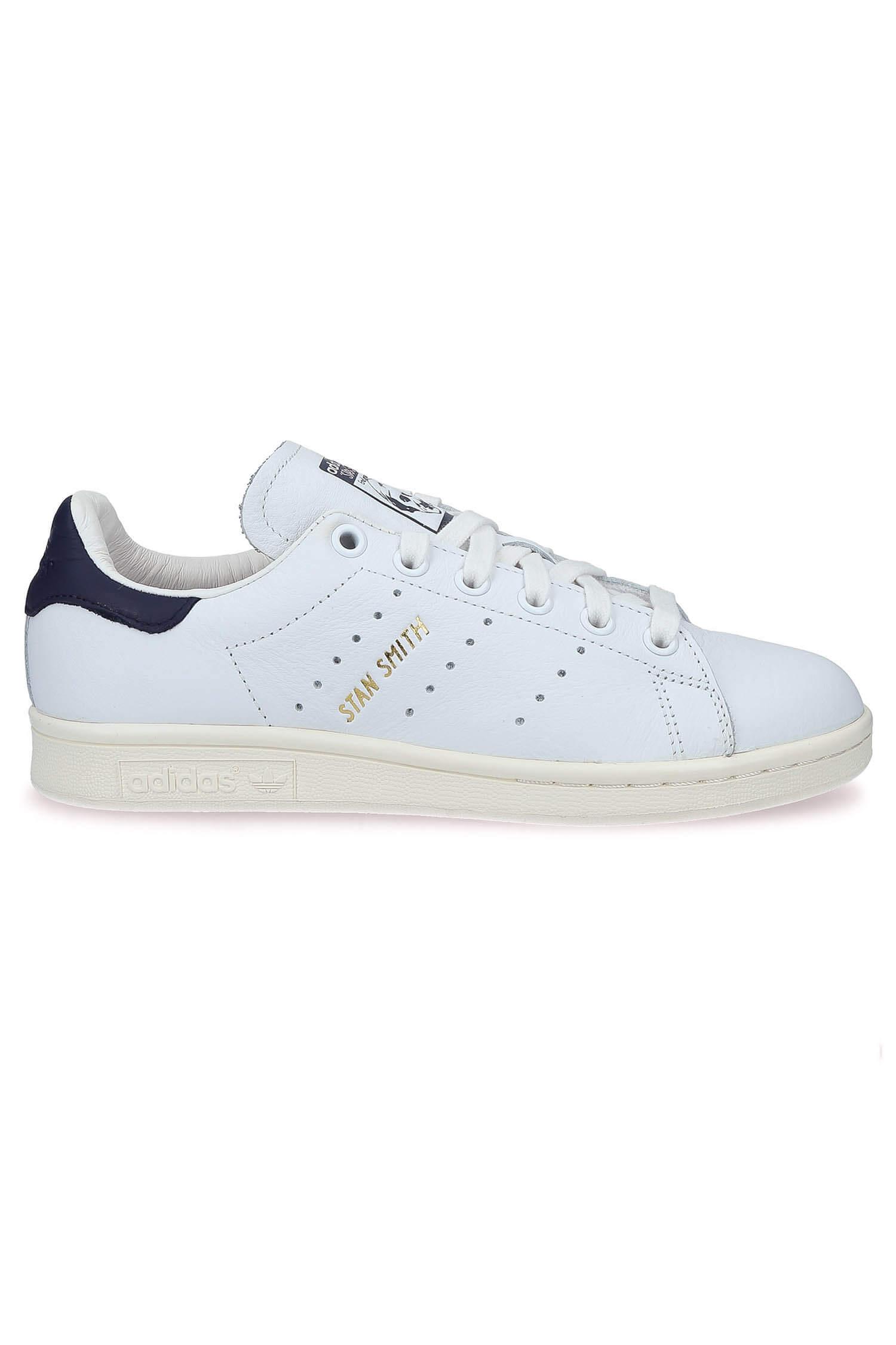 chaussures de séparation be858 36701 Baskets Stan Smith patch Bleu marine