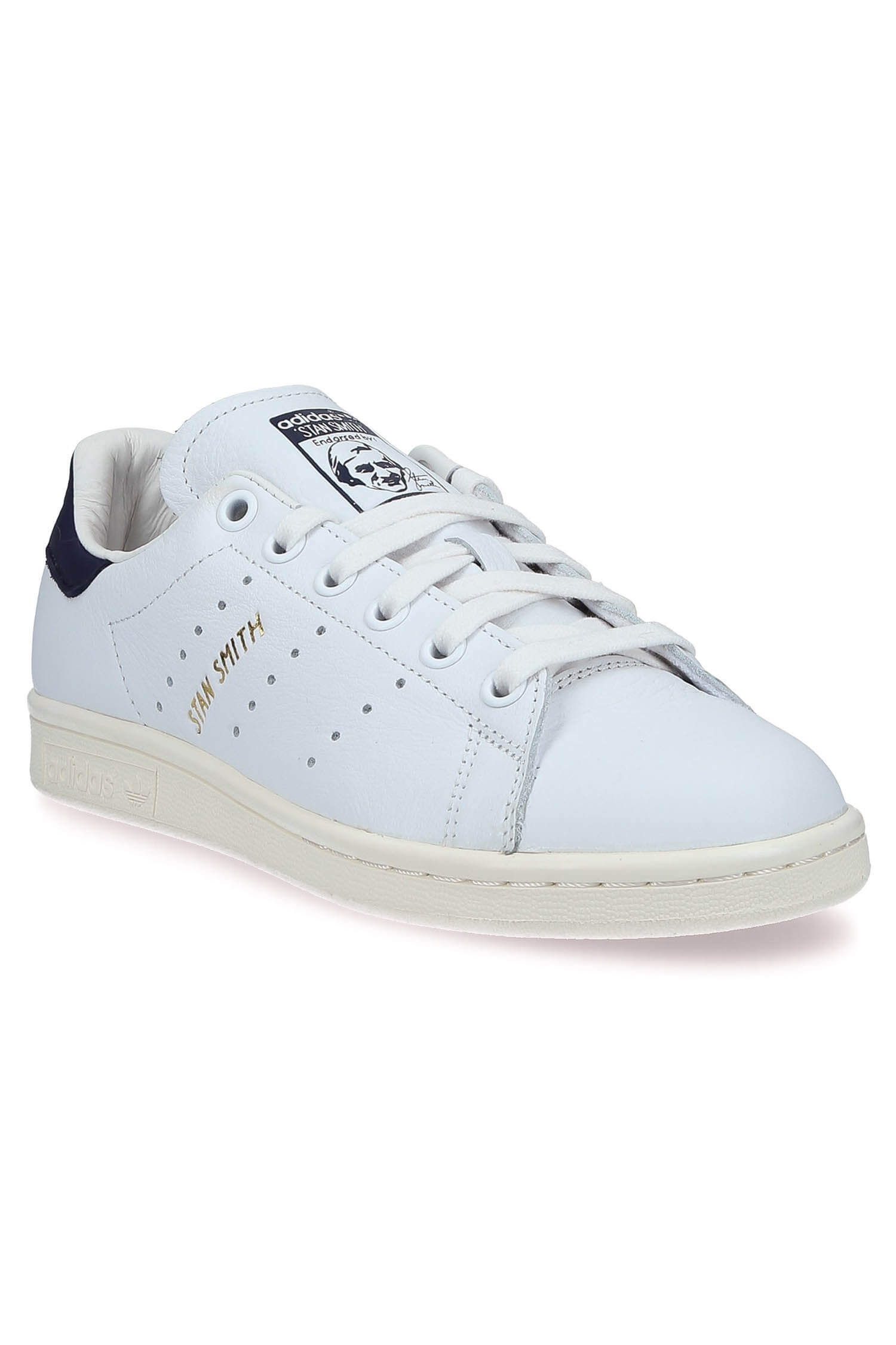 ... Adidas Originals / Stan Smith patch Bleu marine ...