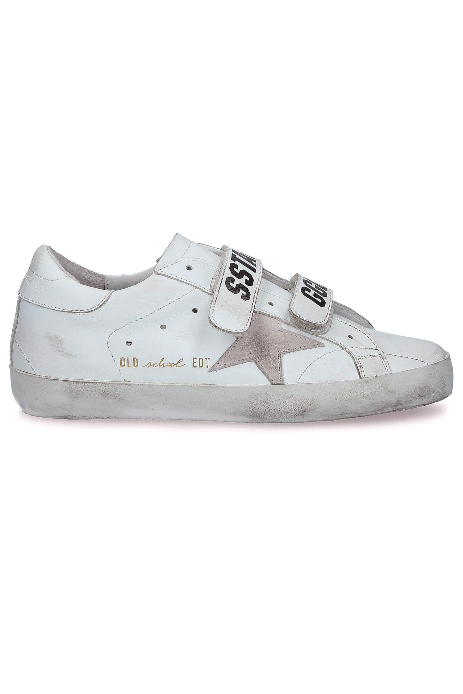 Baskets Cuir Scratchs Old SchoolGolden Goose 0ULrry