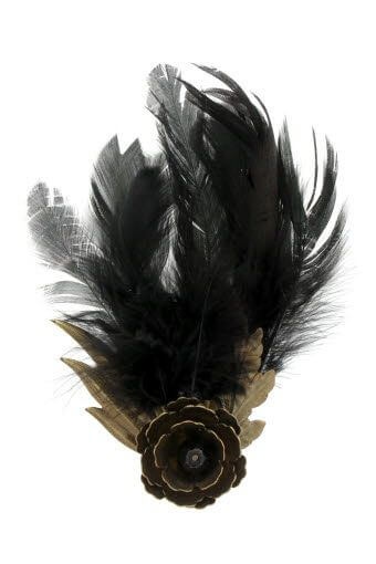 Forte Forte / Broche avec plume