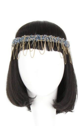 Maison Michel / Head band capucine gold