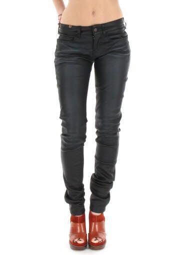 Notify / Pantalon skinny en cuir