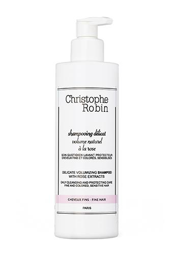 Christophe Robin / Shampoing volume à la rose 400 ml