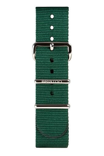 Briston / Bracelet spécial NATO vert anglais 245 mm