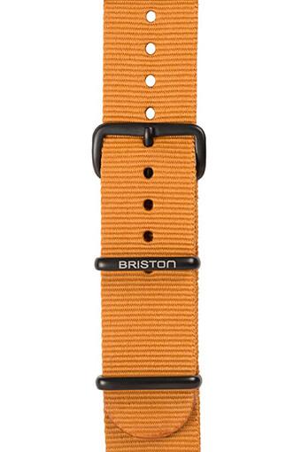 Briston / Bracelet type NATO marron 280mm