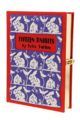 Olympia Le-Tan / Minaudière livre Fifteen Rabbits