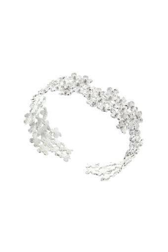 Ambre & Louise / Bracelet Daisy argent