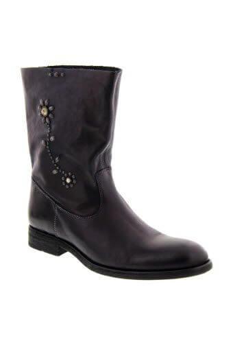 HTC / Boots Sienna en cuir et fleurs