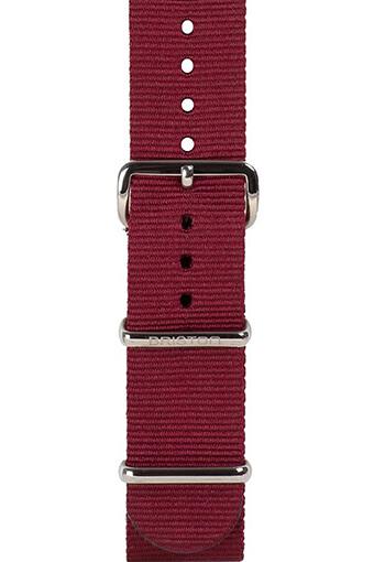 Briston / Bracelet spécial NATO bordeaux 245mm