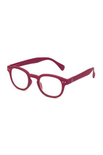 See Concept Izipizi / Lunettes de lecture #C raspeberry red