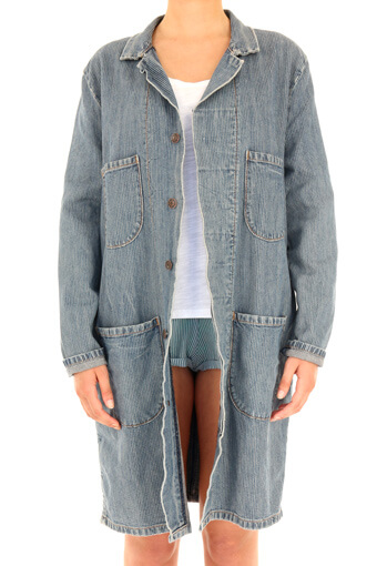 6397 / Manteau en jean