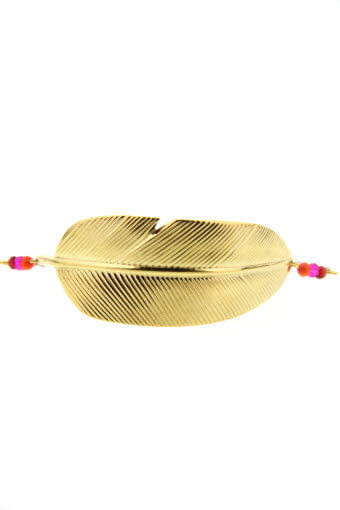 L'atelier des Dames / Bracelet plume