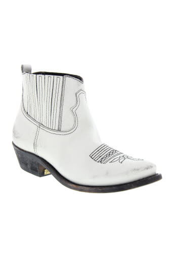 Golden Goose / Boots Crosby white black