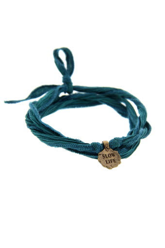 Catherine Michiels / Bracelet Slow Life en bronze