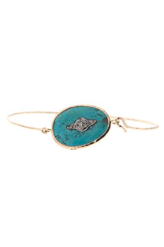 Pascale Monvoisin / Bracelet Garance n° 2 turquoise