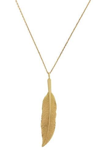 Aurélie Bidermann / Collier plume Amérindienne