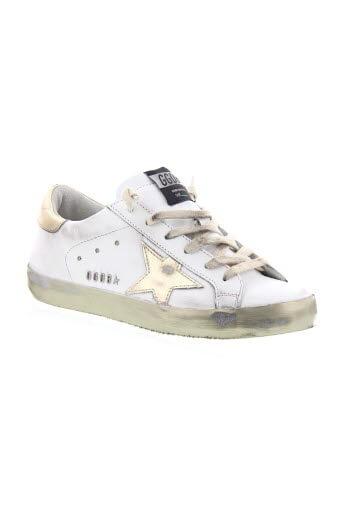 Golden Goose / Sneakers sparkle white/gold