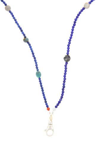 Catherine Michiels / Sautoir en Lapis Lazuli