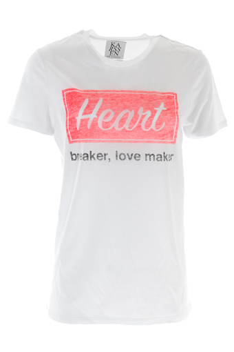 Zoé Karssen / Tee shirt Heart breaker, love maker