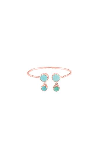 Pascale Monvoisin / Bague Lara N°1 turquoise