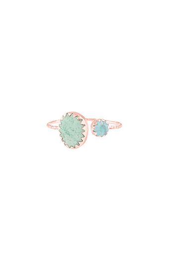 Pascale Monvoisin / Bague lara N°2 turquoise