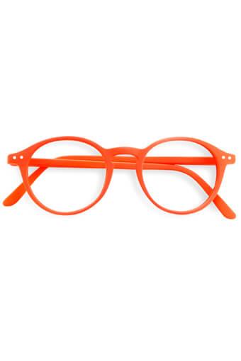 See Concept Izipizi / Lunettes de lecture #D Orange néon soft
