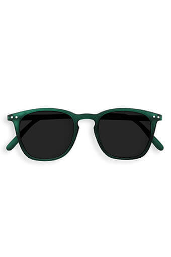 See Concept Izipizi / Lunettes Solaires #E green crystal soft grey lenses
