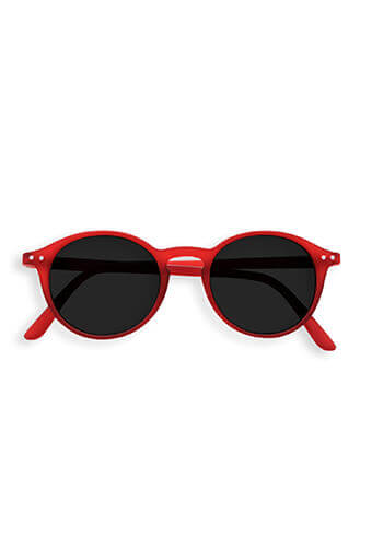 See Concept Izipizi / Lunettes Solaires #E red crystal soft grey lenses