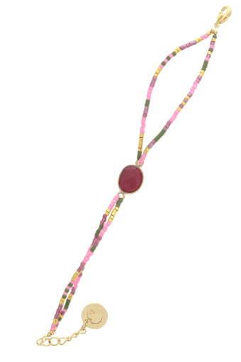 Mademoiselle Antoinette / Bracelet Navajos Rubis