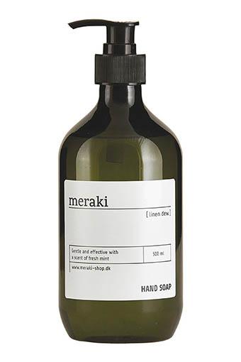 Meraki / Savon pour les mains, Linen dew, 500ml