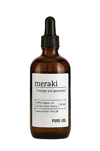 Meraki / Pure Oil, Orange and géranium, 100 ml