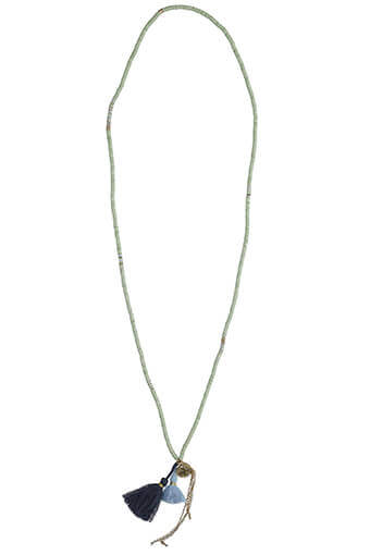 Chan Luu / Sautoir perles disques