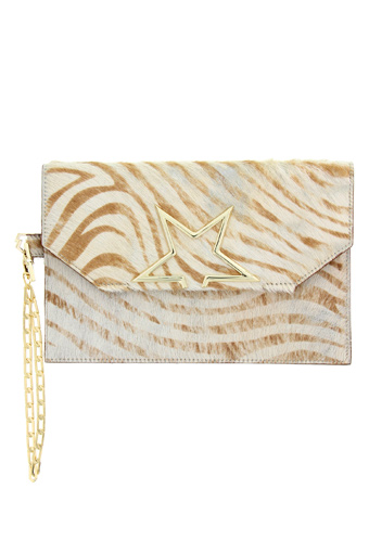 Golden Goose / Pochette Vedette XL zebra