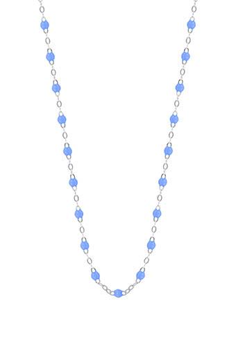 Gigi Clozeau / Collier or gris et perles de résine fluo