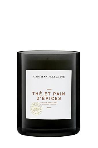 l'Artisan Parfumeur / Bougie thé et pain d'épices 250 grammes.