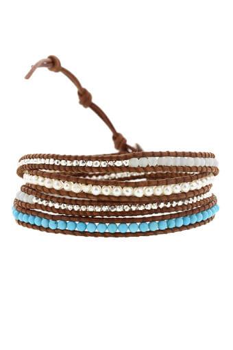 Chan Luu / Bracelet Wrap turquoise