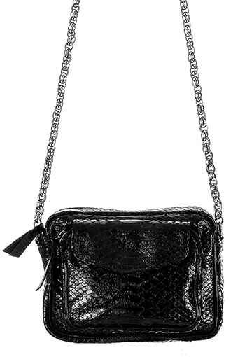 Claris Virot / Sac Charly chaine argent