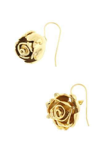 Aurélie Bidermann / Boucles d'oreilles Rose Demetria
